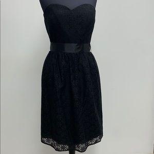 Short black formal dress